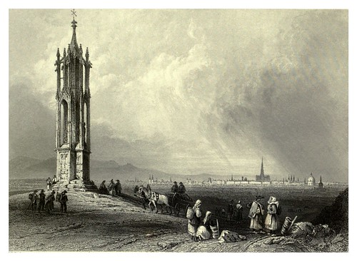 023- Viena vista desde el Spinnerinn Kreutz 1844