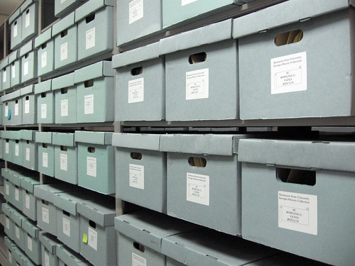 Archives' stacks