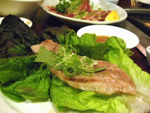 Tsuruhashi- Pork Belly with Lettuce