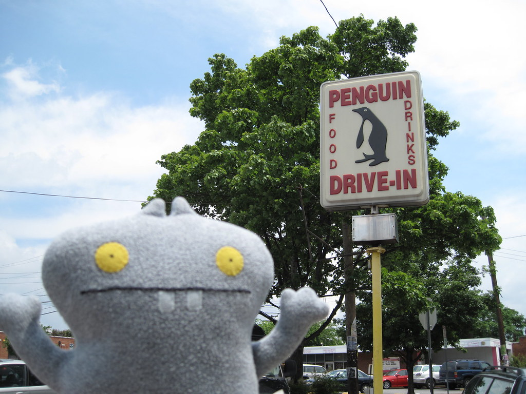 Traveling Babo at Penguin Drive-In, Charlotte, NC.
