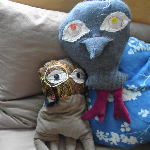 Sweater Bird and Monocle Pod Are Friends