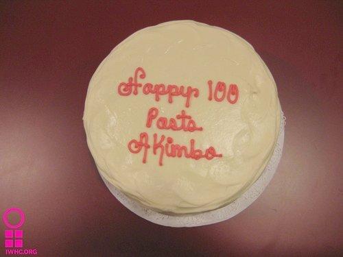 Happy 100 posts Akimbo!