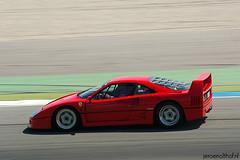 Ferrari F40 (Jeroenolthof.nl) Tags: holland netherlands jeroen track italia photographer automotive ferrari tt circuit viva 2009 assen italiano f40 concorso olthof jeroenolthofnl jeroenolthof