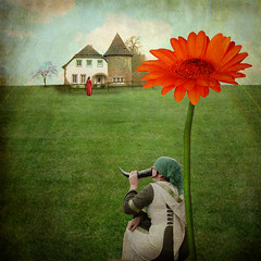 dreaming of home (AlicePopkorn) Tags: light flower home nature beauty photoshop creativity energy joy dreaming textures creativecommons imagination memoriesbook alicepopkorn theawardtree texturesonlycompetition