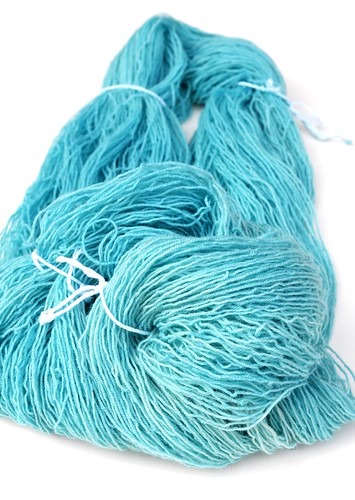 kettled dyed BFL superwash