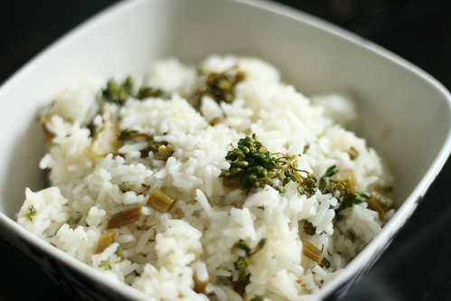 Fresh From the Garden: Broccoli Rice with Lemon Herb Dressing