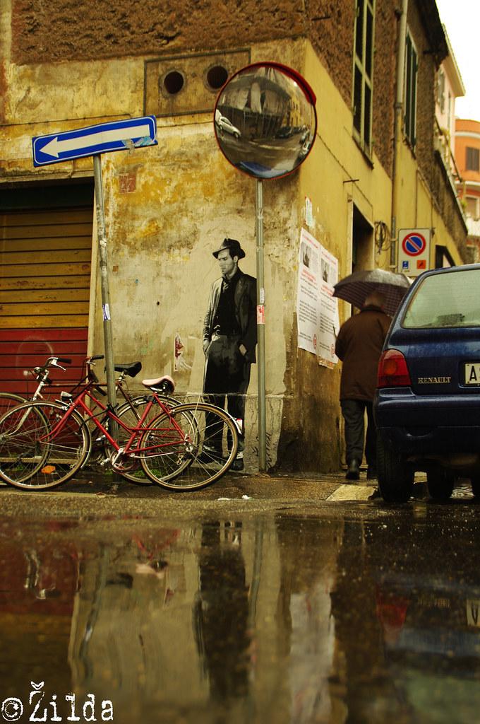 Il ladro di biciclette - Tor Pignattara - Roma