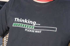 Thinking... please wait