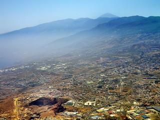 Santa Cruz de Tenerife desde el aire