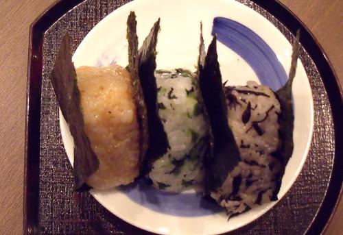 Onigiri, 3 kinds