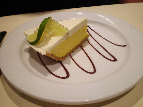 Carnival Elation - Key Lime Pie (Imagination Dining Room)