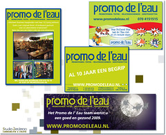 Promo de l'Eau (Studio Brederoo) Tags: logo design graphicdesign businesscards website brochure branding corporateidentity restyling visitekaart huisstijlen graphicdesignbystudiobrederoo jaarverslagen