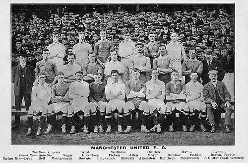 Manchester United 1905/06 team photograph