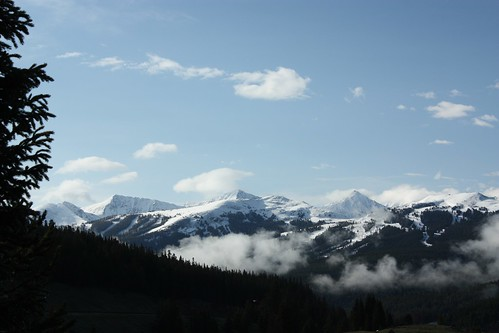 View from Vail Pass