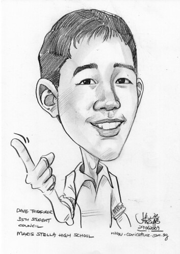 Caricature for Maris Stella High School -1