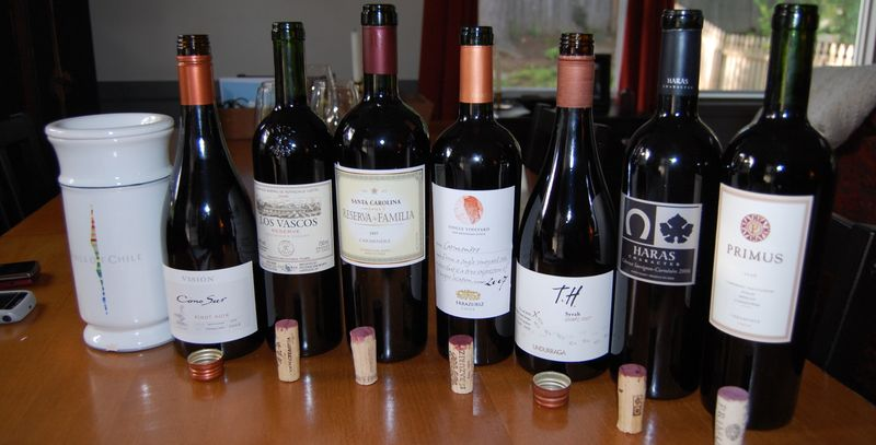 Wines of Chile Online Tasting Event