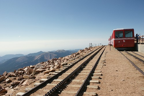 Train at Pike's Peak