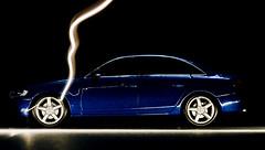_DT28556 (shaunthein) Tags: lighting shadow macro car nikon streaks a4 audi d300 strobist nikond300 newa4 lightsmacro