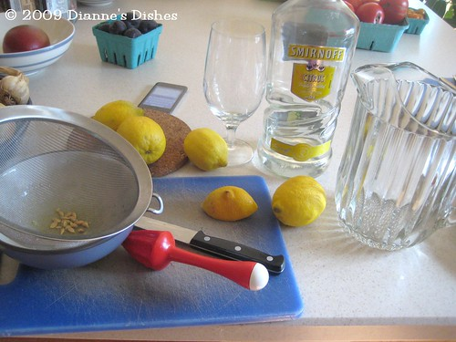 Cocktail Time! Let's Make Lemon Drops!