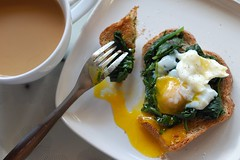 not what i remembered (monika dabrowski) Tags: morning food coffee breakfast pepper soft natural toast egg salt organic steamed boiled spinach yolk runny