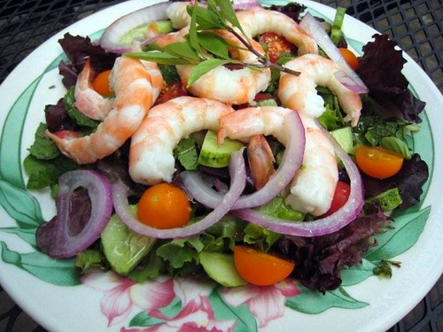 Sunday Salads: Thai Shrimp Salad (Churches in Venice)