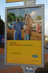 stranded? mobile money to the rescue