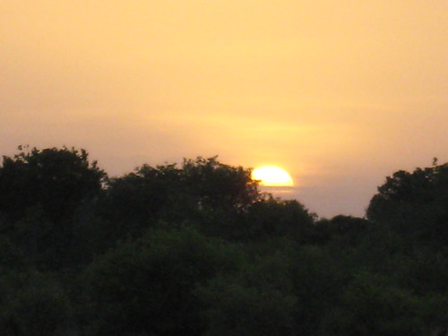 Dawn at Pendjari