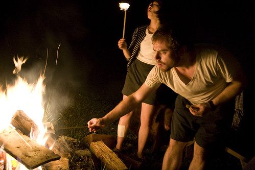 roast those marshmallows