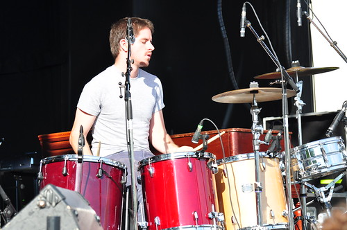 The Dodos at Ottawa Bluesfest 2009