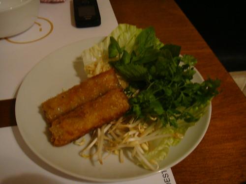 Nem tom - Rollito vietnamita