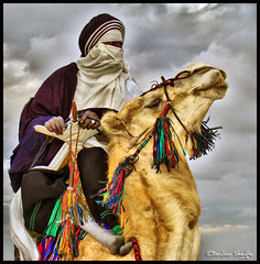The Face Behind the Tagelmust ! (Bashar Shglila) Tags: portrait sky sahara face portraits desert culture camel behind libya lybia touareg libyan ghadames the libia libyen lbia libi libiya liviya ghadamis libija platinumheartaward  tagelmust     lbija  lby libja lbya liiba livi   ibia