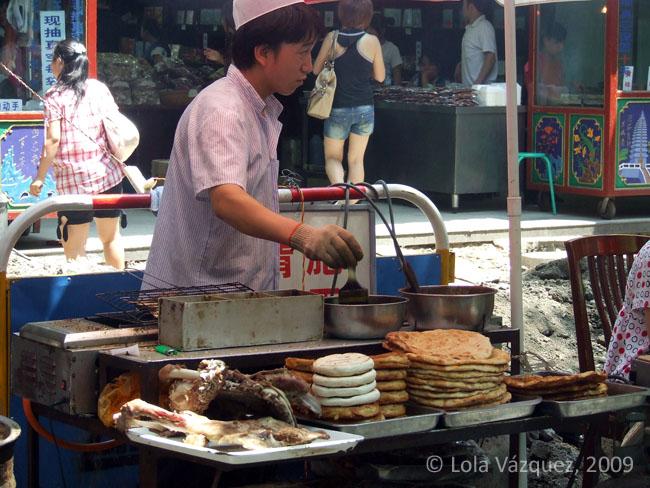 Vendedor callejero. © Paco Bellido, 2009