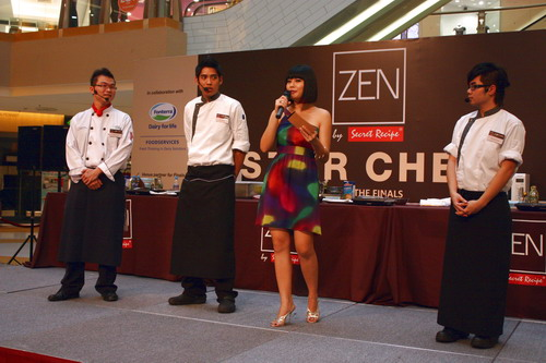 zen star chef secret recipe