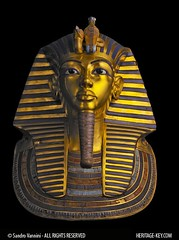 King Tutankhamun's Golden Death Mask (Sandro Vannini) Tags: gold kingtut ancient cobra photos egypt vulture boyking deathmask tutankhamun egyptology solidgold egyptians lapislazuli goldenmask kv62 howardcarter funery burialmask heritagekey funerymask keyobject140 sandrovannini