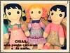 meninas lindas da CriAS (AP.CAVALARI / ANA PAULA) Tags: toy dolls handmade fabric boneca tecido feitoamão fabricdolls bonecadetecido anapaulacavalari apcavalari