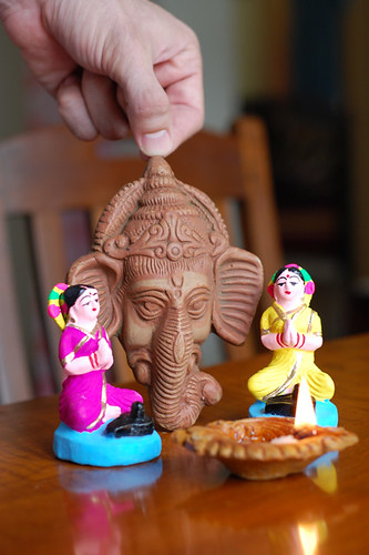 Ganesh chaturi - day one