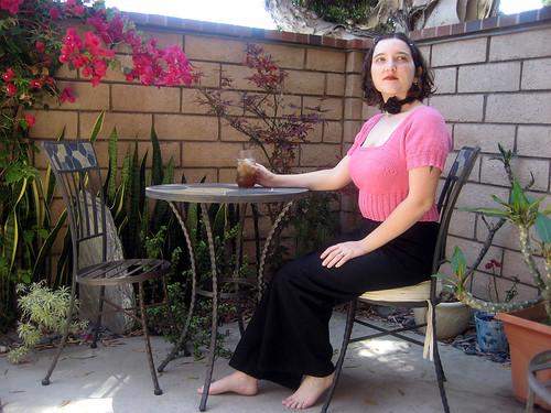 My free Triangle Shawl and Short Sleeve Shrug Patterns