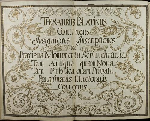 Thesaurus Palatinus c
