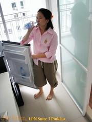 Sanyo Refrigerator - Lumpini Suite Pinklao
