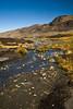La source du fleuve Ramis, principal affluent du lac Titicaca, La Rinconada , Puno, Pérou