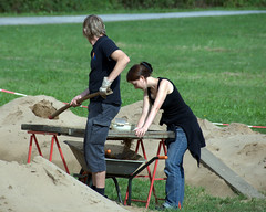 Working at the Sifting Table