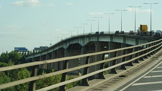 M60 Barton Bridge Fly-over