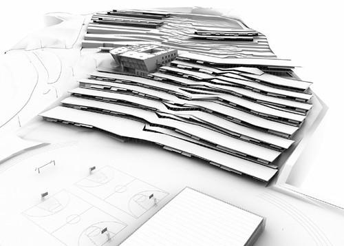ontwerp schoolgebouw