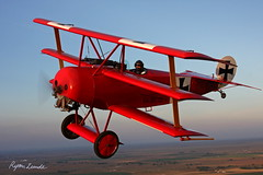 Fokker Dr.I (Champion Air Photos) Tags: aviation wwi ww1 dri redbaron airtoair fokker dr1 triplane richthofen