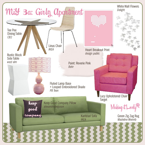 MiY 3a: Girly Apartment