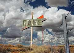 Ex Cafe (jrtce1) Tags: sky clouds cafe desert mojavedesert barstow californa oldsigns edwardsairforcebase highway58 jrtce1