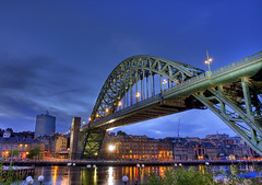 Eid Mubarak from Newcastle-upon-tyne (i.rashid007) Tags: uk night reflections newcastle landscape nightshot northumberland northeast newcastleupontyne tyneandwear eidmubarak