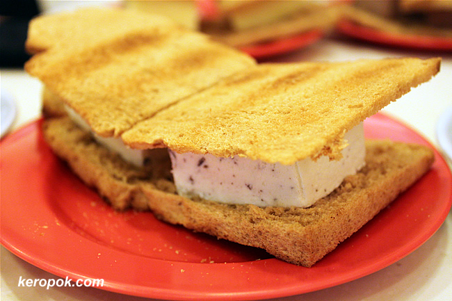 Ice Cream Toast - Choc Chip