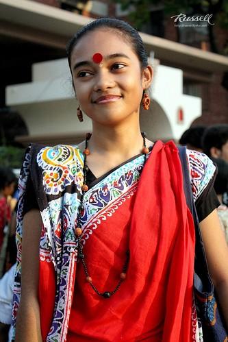 Bengali Beauty (by Russell John)
