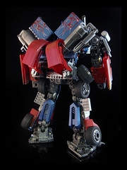 Optimus Prime (R5) (frenzy_rumble) Tags: prime transformer optimus commission autobot optimusprime commissioned rotf leaderclass frenzyrumble revengeofthefallen frenzyrumblecom